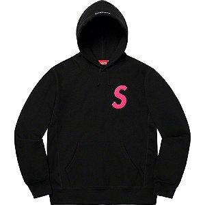 """SUPREME - Moletom S Logo """"Preto"""" -NOVO-"""