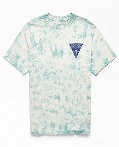 "GUESS - Camiseta Oversized Logo ""Tie Dyed"""