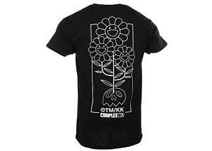 "Takashi Murakami × ComplexCon - Camiseta Flower Cluster ""Black"""