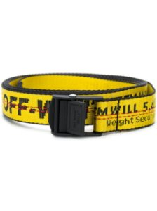"OFF-WHITE - Cinto Mini Industrial ""Yellow"""