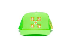 "Virgil Abloh x MCA Figures of Speech - Boné Arrows Trucker ""Volt"""