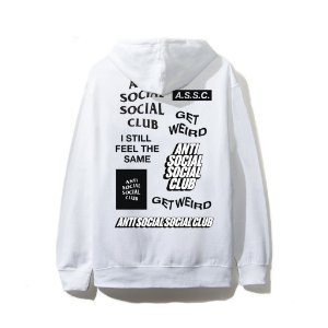 "ANTI SOCIAL SOCIAL CLUB - Moletom Bukake ""White"""