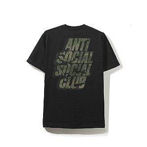"ANTI SOCIAL SOCIAL CLUB - Camiseta Blocked Green Camo ""Black"""