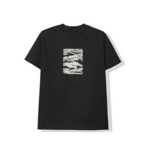 "ANTI SOCIAL SOCIAL CLUB - Camiseta Tiger Camo Box Logo ""Preto"" -NOVO-"