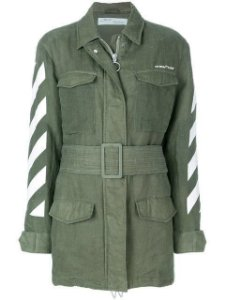 "OFF-WHITE - Jaqueta Military ""Green"""