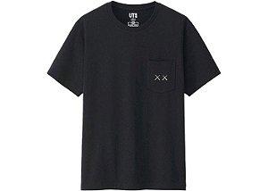"UNIQLO X Kaws x Sesame Street - Camiseta XX Pocket ""Black"""