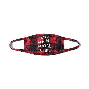 """ANTI SOCIAL SOCIAL CLUB - Máscara Check """"Red"""""""