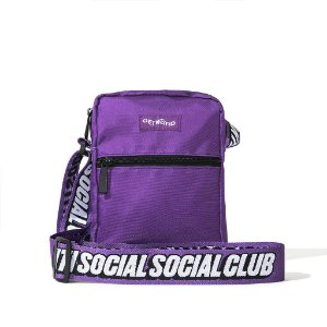 """ANTI SOCIAL SOCIAL CLUB - Bolsa Shoulder Side """"Purple"""""""