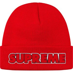 """SUPREME - Touca Outline """"Red"""""""