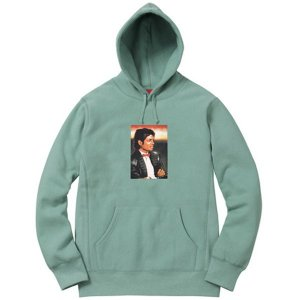 "SUPREME - Moletom Michael Jackson ""Green"""
