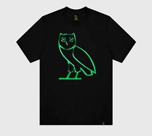"OVO - Camiseta Chrome ""Black/Green"""