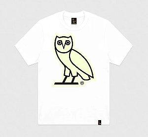"""OVO - Camiseta After Dark Owl Glow in the Dark """"White"""""""