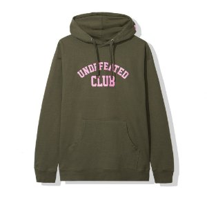 "Anti Social Social Club x Undefeated - Moletom Club ""Army"""
