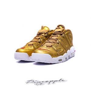 "Nike Air More Uptempo x Supreme ""Suptempo Gold"""