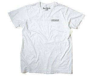 """TOM SACHS - Camiseta Ten Bullets """"Branco"""" -NOVO-"""
