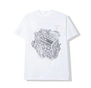 "Anti Social Social Club x Honda - Camiseta Motor ""White"""