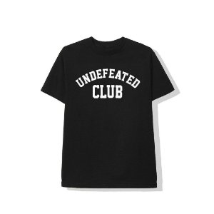 "ANTI SOCIAL SOCIAL CLUB x UNDEFEATED - Camiseta ASSC Club ""Preto"" -NOVO-"