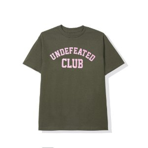 "ANTI SOCIAL SOCIAL CLUB x UNDEFEATED - Camiseta ASSC Club ""Verde Oliva"" -NOVO-"