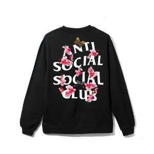 "ANTI SOCIAL SOCIAL CLUB - Moletom Kkoch ""Black"""