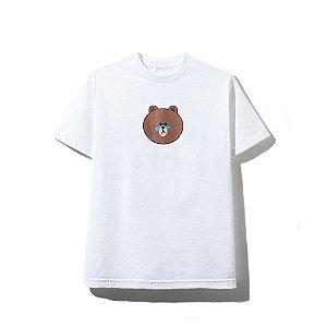 "ANTI SOCIAL SOCIAL CLUB x LINE FRIENDS - Camiseta BROWN ""White"""