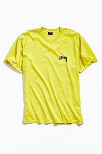 "STUSSY - Camiseta 8 Ball ""Lime"""