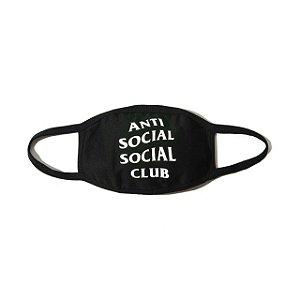 "ANTI SOCIAL SOCIAL CLUB - Máscara Medical ""Black"""