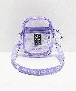 """adidas - Bolsa Shoulder Clear """"Purple"""""""