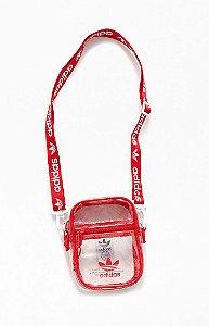 """adidas - Bolsa Shoulder Clear """"Red"""""""