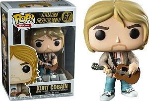 FUNKO POP! - Boneco Kurt Cobain #67
