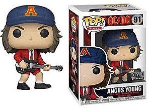 FUNKO POP! - Boneco AC/DC: Angus Young (Blue Cap) #91