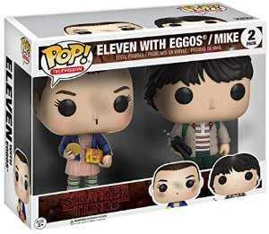 FUNKO POP! - Boneco Stranger Things: Eleven with Eggos/Mike #2