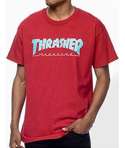 "THRASHER - Camiseta Magazine Outlined ""Red"""