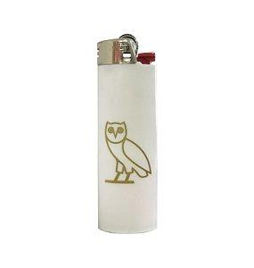 """OVO x Bic - Isqueiro Owl Logo """"White"""""""