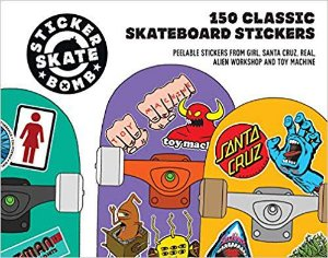 STICKERBOMB SKATEBOARD - Livro 150 Classic Skateboard Stickers