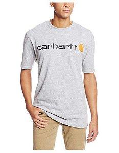 "CARHARTT- Camiseta Script Logo ""Grey"""