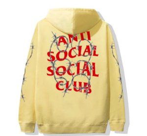 "ANTI SOCIAL SOCIAL CLUB - Moletom Barbara ""Yellow"""