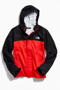 "THE NORTH FACE - Jaqueta Windbreak Venture 2 ""Black/Red"""