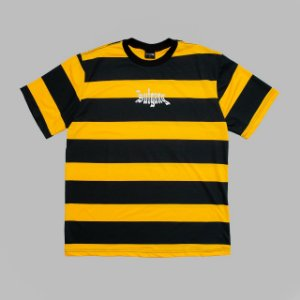 "SUFGANG - Camiseta Striped ""Black/Yellow"" (Exclusive)"