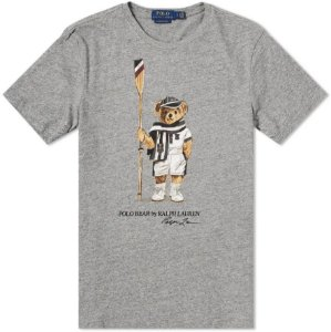 "Polo Ralph Lauren - Camiseta Polo Bear Swing ""Grey"""
