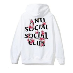 "ANTI SOCIAL SOCIAL CLUB - Moletom Kkoch ""White"""