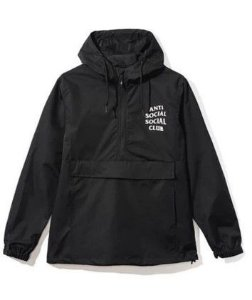 "ANTI SOCIAL SOCIAL CLUB - Jaqueta Anorak ""Black"""