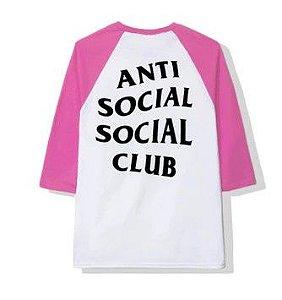 """ANTI SOCIAL SOCIAL CLUB - Camiseta Boring Game """"White/Pink"""""""