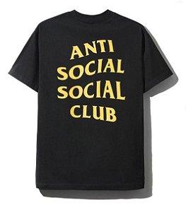 """Anti Social Social Club x Champion - Camiseta Homeroom """"Black"""""""