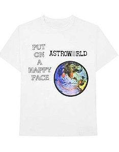 """TRAVIS SCOTT - Camiseta Astroworld Down To Eath """"White"""""""