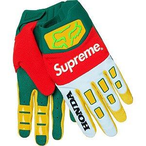 "Supreme x Honda x Fox - Luvas Racing ""Green/Red"""