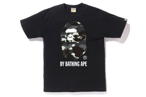 "BAPE - Camiseta City Camo Grey By Bathing ""Black"""