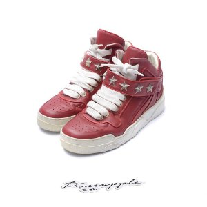 "Givenchy Tyson Leather High Star ""Red"""