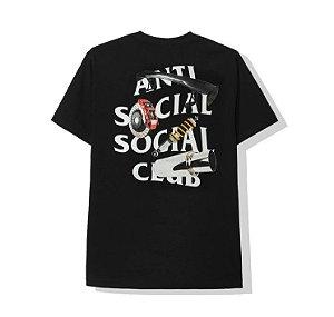 "ANTI SOCIAL SOCIAL CLUB - Camiseta Riceroni ""Black"""