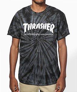 """THRASHER - Camiseta Skate Mag Spider """"Tie Dye"""""""