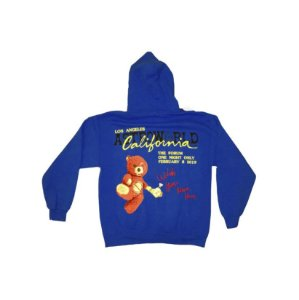 "TRAVIS SCOTT -  Moletom Astroworld Tour Los Angeles ""Blue"""
